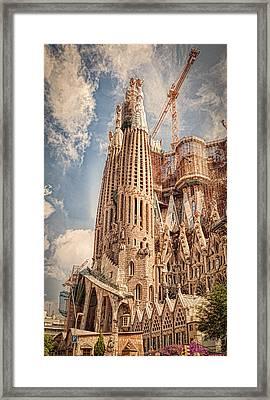 Sagrada Familia Framed Print by Erik Brede