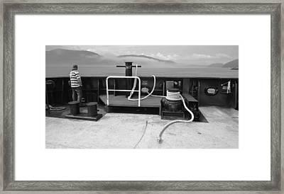 Saguenay Crossing Framed Print by Arkady Kunysz