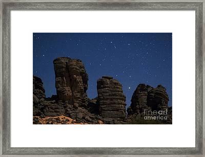 Sahara Night Framed Print by Babak Tafreshi