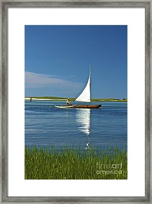 Sail Framed Print by Amazing Jules