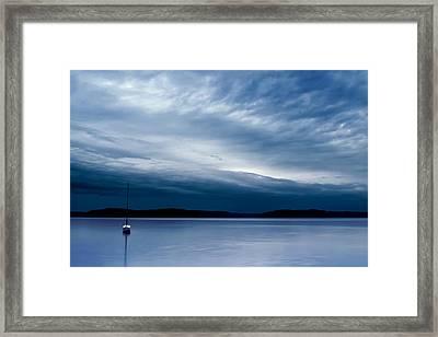 Sail On Framed Print by Ryan Manuel