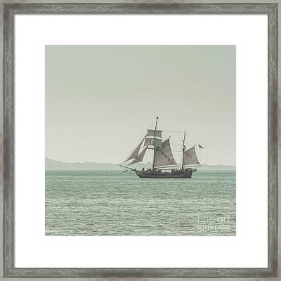 Sail Ship 2 Framed Print by Lucid Mood