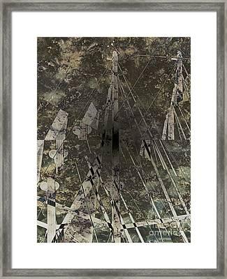 Sail Sky Framed Print by Luc  Van de Steeg