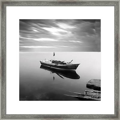Sail To Eternity Framed Print by Talip Kaya