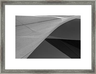 Sailcloth Abstract Number 9 Framed Print by Bob Orsillo