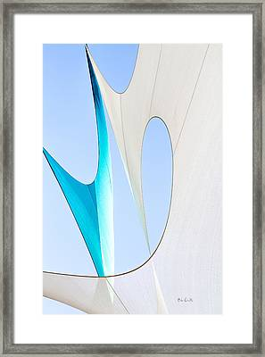 Sailcloth Abstract Number Twenty Framed Print by Bob Orsillo
