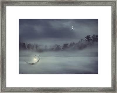 Sailing Odyssey Framed Print by Lourry Legarde