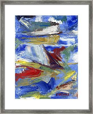 Sailing Framed Print by Pamela Parsons
