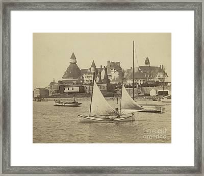 Sailing The Del Framed Print by Glenn McNary