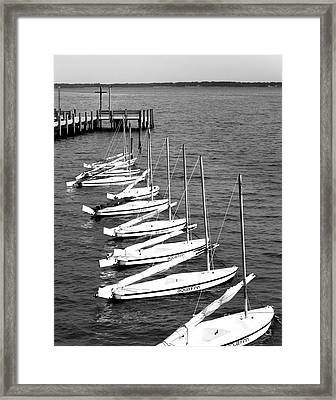 Sailing To Jesus Framed Print by Robert Yaeger