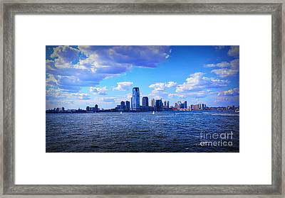 Sailing To Shore Framed Print by Terry Wallace
