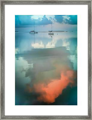 Sailing Upon Dreams Framed Print by Karen Wiles