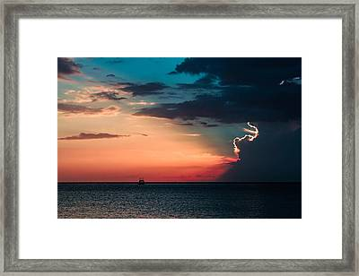 Sailor's Delight Framed Print by Todd Reese
