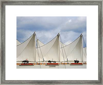 Sails Framed Print by Alison Miles