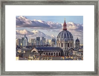 Saint Augustin Paris Church Eglise Framed Print by Lumiere De Liesse Ltd