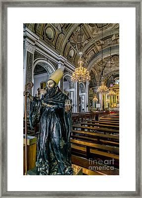 Saint Augustine Framed Print by Adrian Evans