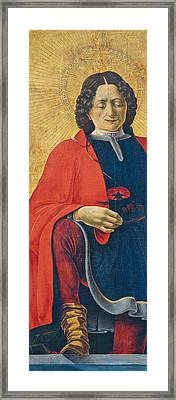 Saint Florian Framed Print by Francesco del Cossa