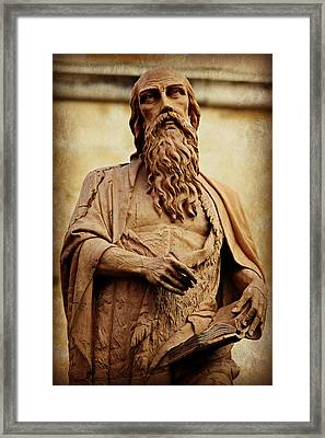 Saint Jerome Framed Print by Stephen Stookey