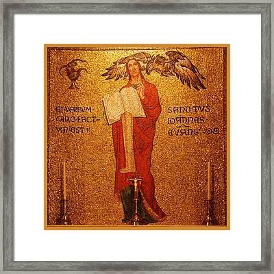 Saint John Altar Framed Print by Philip Ralley