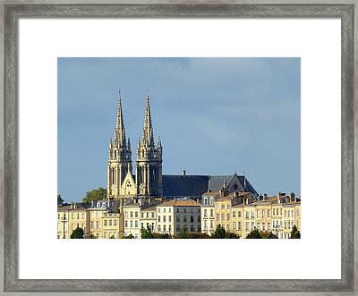 Saint Louis De Bordeaux Framed Print by Bishopston Fine Art