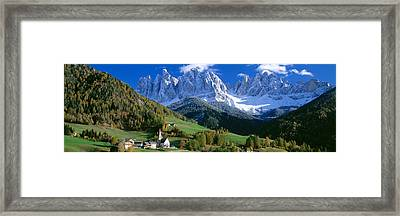 Saint Magdalena Church, Italy Framed Print by Panoramic Images