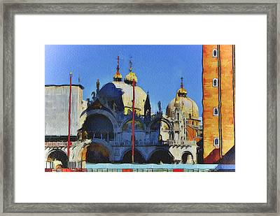 Saint Mark Venice Framed Print by Yury Malkov