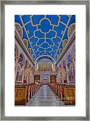 Saint Michaels Church Framed Print by Susan Candelario