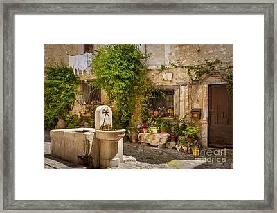 Saint Paul De Vence Framed Print by Brian Jannsen