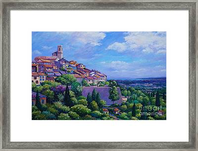 Saint Paul De Vence Framed Print by John Clark