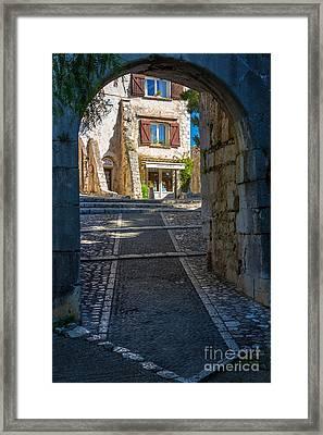 Saint Paul Entrance Framed Print by Inge Johnsson