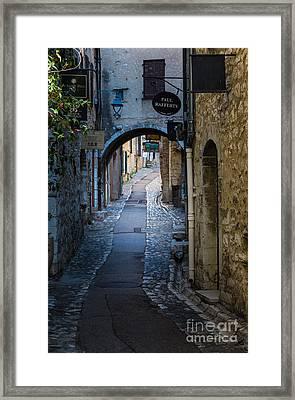 Saint Paul Rue Grande Framed Print by Inge Johnsson
