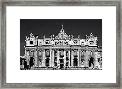 Saint Peter's Basilica Framed Print by Mountain Dreams