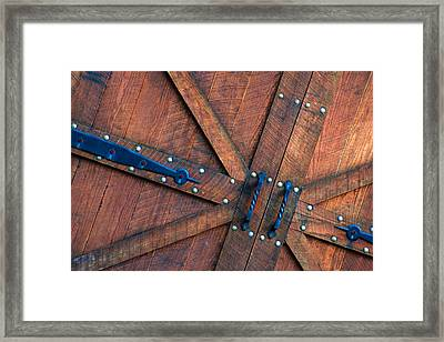 Saint Peters Gate Framed Print by Mike Flynn