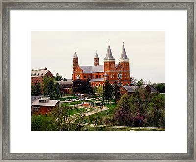 Saint Vincent College Framed Print by Georgia Fowler