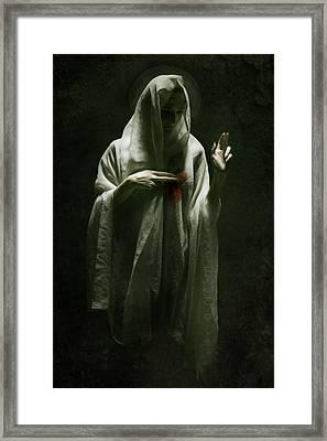 Saint Framed Print by Wojciech Zwolinski