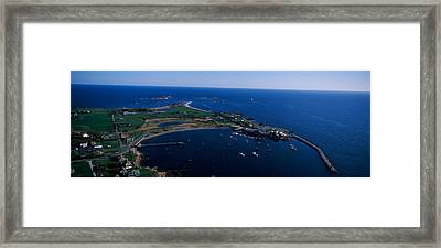 Sakonnet Point Lighthouse Framed Print by Panoramic Images