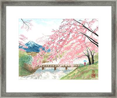 Sakura Framed Print by Terri Harris
