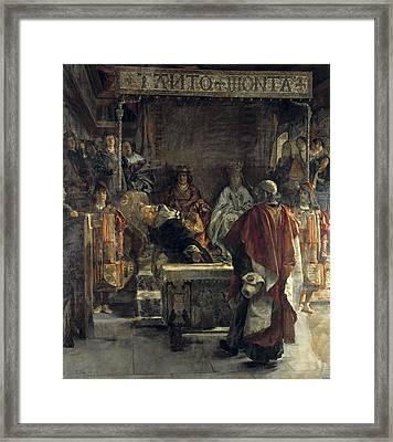 Sala Y Frances, Emilio 1850-1910. The Framed Print by Everett