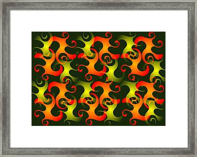 Salamanders Dream Framed Print by Anastasiya Malakhova