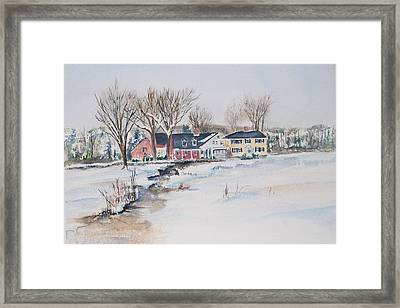 Salem Cross Inn Framed Print by Michael McGrath