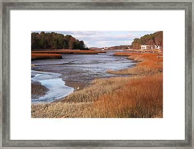 Salem Willows Park Ipswich Mass Framed Print by Gail Maloney