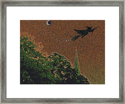 Salem Witch Moon 1 Framed Print by First Star Art