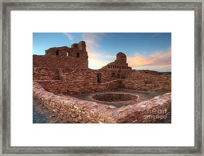 Salinas Pueblo Mission Abo Ruin Framed Print by Bob Christopher