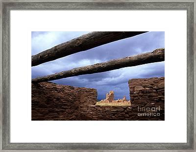 Salinas Pueblo Mission Abo Ruins 5 Framed Print by Bob Christopher