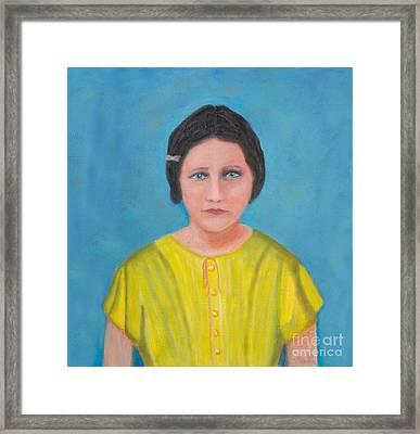 Sally Stevens Marcum Ky Framed Print by Iris Richardson