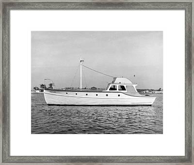 Salt Air Framed Print by Underwood Archives