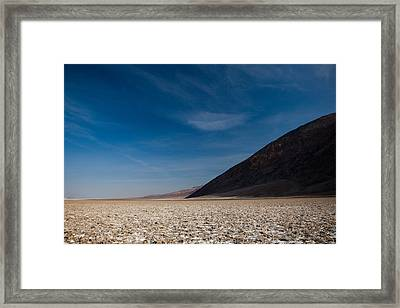 Salt Flat, Western Hemisphere, Badwater Framed Print by Panoramic Images