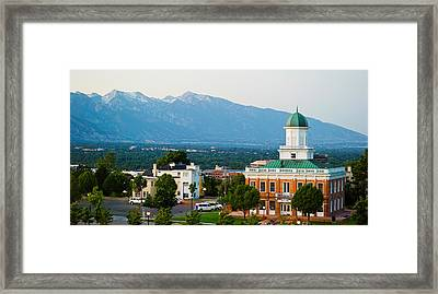 Salt Lake City Council Hall, Capitol Framed Print by Panoramic Images