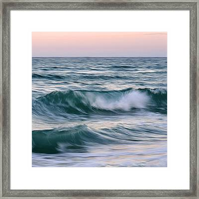 Salt Life Square Framed Print by Laura Fasulo