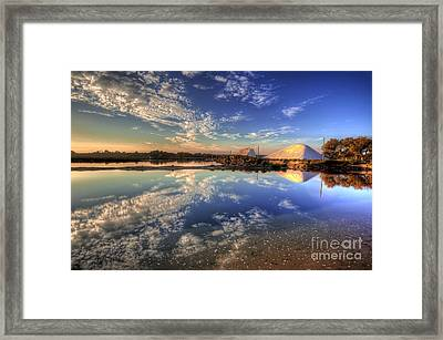 Salt Pans Of Ludo Framed Print by English Landscapes